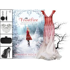 Book Look: Frostfire (Kanin Chronicles #1) By Amanda Hocking by xmikky on Polyvore featuring Giuseppe Zanotti, Ice, Topshop and BookLook