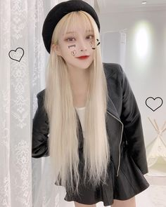 Cute Korean Girl, Asian Girl, Girls In Love, Cute Girls, Estilo Bad Boy, Kpop Hair, Thing 1, Ulzzang Girl, Woman Face