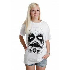 ASA x AONO - Death Trooper Collab May The Fourth White - T-Shirt - Streetwear Online Shop - Impericon.com Worldwide