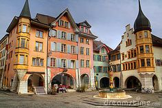 Biel, Switzerland - lovely little city a bit north of Bern, and southwest of Basel Wonderful Places, Great Places, Beautiful Places, Oh The Places You'll Go, Places Ive Been, Places To Visit, Switzerland Trip, Beaux Villages, Belle Villa