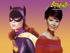 Batgirl Yvonne Craig Barbara Gordon wallpaper 1966 by superheroinelinks, via Flickr