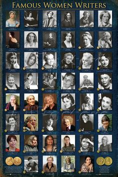 Famous Women Writers Prints at AllPosters.com
