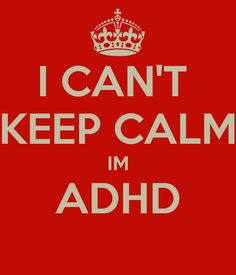 #adhd #keepcalm
