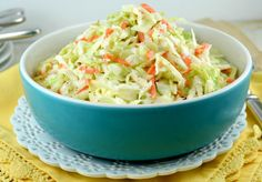 KFC-Coleslaw-Recipe - Kathleen says: Not like KFC but pretty tasty. Didn't use lemon juice or buttermilk because I didnt have them. Maybe next time.