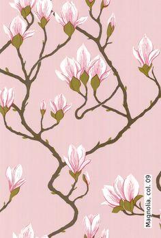 Tapete: Magnolia, col. 09 - TapetenAgentur von Cole and Son