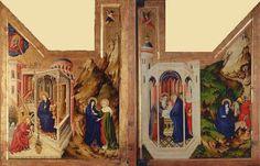 melchior broederlam dijon altarpiece, 1392-93