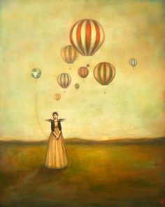Her Own Little World 2011 by Duy Huynh