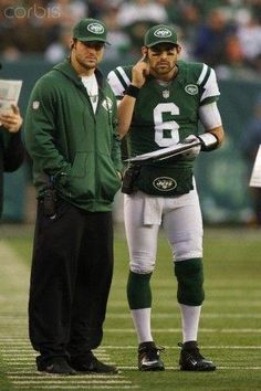Tim Tebow and Mark Sanchez (December 2, 2012)