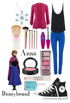 """Anna Disneybound"" by madycraft ❤ liked on Polyvore"