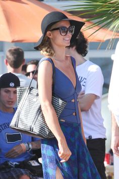 Paris Hilton Throws a Party at the Beach rocking with her #PHpurses! Like always! <3