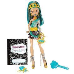 Rare Monster High Nefera De Nile Doll Brand New