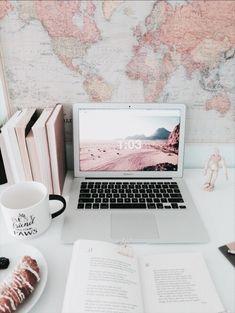 Ideas home office decor pink desk space