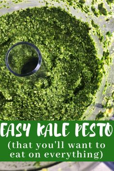 The easiest kale pesto recipe that you can make from super simple ingredients in very little time. You will want to eat this pesto on everything: chicken, pasta, potatoes etc. Vegetable Recipes, Vegetarian Recipes, Cooking Recipes, Healthy Recipes, Simple Kale Recipes, Cooked Kale Recipes, Chicken And Kale Recipes, Fennel Recipes, Fruit Recipes