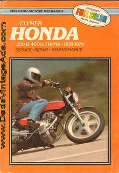 Motorcycle Repair Manual – 1978-1979 Honda Twins 250 & 400cc