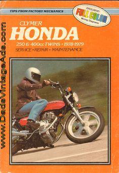 Motorcycle Repair Manual – 1978-1979 Honda Twins 250 & 400cc