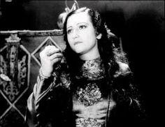 """Adriana Lamar as """"La Malinche"""" in the 1933 Mexican film La Llorona"""
