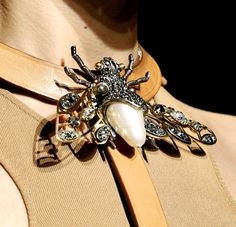 Lanvin Insect Inspired Jewelry