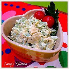 昨晩のたこ焼きパーティーの副菜② - 4件のもぐもぐ - セロリとポテチのサラダ by emiy