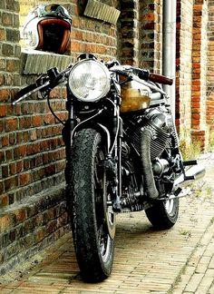 Helmet | Goggles | Moto Guzzi Cafe Racer