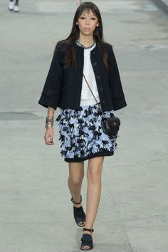 CHANEL SS15 Ready-To-Wear #PFW