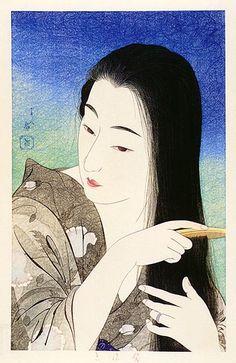 Goyo Hashiguchi | ARTMEMO Estampes japonaises - Exposition