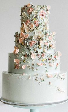 5 Wedding Cake Designers and 50 Wedding Cake Ideas Buttercream wedding cakes from cynzcakes The post 5 Wedding Cake Designers and 50 Wedding Cake Ideas appeared first on Garden Diy. Pretty Wedding Cakes, Floral Wedding Cakes, Wedding Cake Designs, Pretty Cakes, Floral Cake, Best Wedding Cakes, Unique Wedding Cake Toppers, Wedding Cake Simple, Modern Wedding Cakes