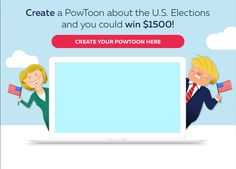 PowToon is a brand new presentation tool that allows you to create animated presentations and cartoon style videos just by dragging and dropping.