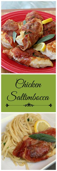 Chicken Saltimbocca: An easy gourmet style meal you can have on your table in 30 minutes