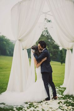 Nashville Wedding from Ariel Renae Read more - www. Wedding Ceremony Arch, Wedding Altars, Wedding Canopy, Wedding Ceremony Decorations, Wedding Bells, Outdoor Ceremony, Wedding Designs, Wedding Styles, Summer Wedding