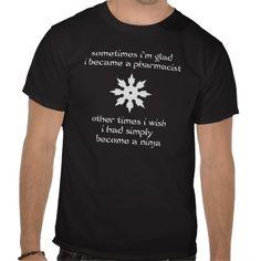 Ninja Pharmacist (Dark) T Shirt
