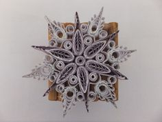 quilling, snowflake, Quilling, Snowflakes, Jewelry, Bedspreads, Jewlery, Bijoux, Schmuck, Jewerly, Jewels