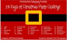 Christmas Photo Challenge...fun!