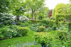Un jardín holandés increíblemente bello