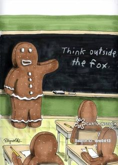 The Gingerbread Man Cartoons and Comics - funny pictures from ...