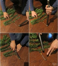 DIY Christmas Decor: Faux Tree Repurposed 3 Ways DIY Christmas Decor: Faux Tree Repurposed 3 WaysLearn how to make Christmas decorations from an old fake Christmas tree. Outdoor Christmas g Outdoor Christmas Garland, Cheap Christmas Ornaments, Mason Jar Christmas Decorations, Country Christmas Trees, Christmas Tree Themes, Diy Christmas Tree, Alpine Christmas Tree, Christmas Ideas, Burlap Christmas