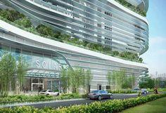 Singapur'da 21. Yüzyılın Ekolojik Gökdeleni Solaris