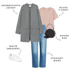 The Everygirl's 2020 Spring Capsule Wardrobe - Source by joelapeter - Capsule Wardrobe Women, Capsule Outfits, Travel Wardrobe, Spring Wear, Spring Summer Fashion, Spring Style, Look Formal, Spring Jackets, Fashion Over 40