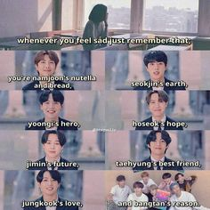 Seokjin, Namjoon, Hoseok, Bts Lyrics Quotes, Bts Qoutes, Bts Funny Videos, Bts Memes Hilarious, Taehyung, Bts Wallpaper Lyrics