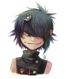 Cyborg noodle somewhat creeps me out but she is pretty