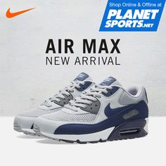 298a20cd22 NIKE AIR MAX 90 Essential Iconic profile with Impact protection. Featuring  the superb cushioning that