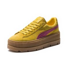size 40 1d271 9bcaa PUMA by Rihanna Basket FENTY Suede Cleated Creeper. Chaussure Plateforme  Femme ...