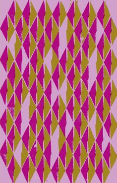 Photographic and digital triangle pattern - Sarah Bagshaw