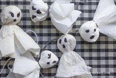 Printable Halloween Bingo Cards & Grab the Ghost Game
