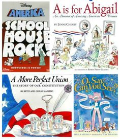 Kids Books & Activity Ideas that Celebrate the 4th - fun ways to learn about the flag, fireworks and Independence Day activities!