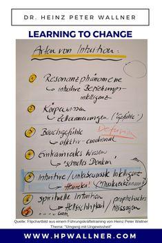 """Sechs Bereiche, die wir Intuition nennen können Die Bereiche lassen sich nach der Frage definieren, woher das """"intuitive Wissen"""" stammt, über das wir in bestimmten Situationen plötzlich verfügen.  #Intuition #Entscheidung #Führung #Führungskräftetraining Intuition, Coaching, Bullet Journal, Blog, Decision Making, Strength Workout, Communication, Relationship, Psychology"""