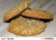 Ovesné sušenky II. recept - TopRecepty.cz Baked Potato, Banana Bread, Smoothies, Healthy Recipes, Healthy Food, Cookies, Baking, Breakfast, Ethnic Recipes
