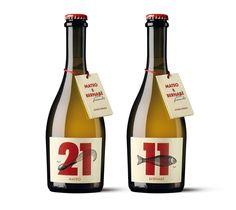 Estudio Moruba y las cervezas Mateo y Bernabé | Diseño gráfico y packaging | Experimenta