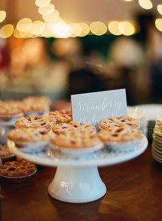 Mini pies for dessert, anyone? // Jen Fariello Photography