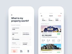 Real Estate App - Property Search and Estimation Design Software : Sketch App Font : SF Compact Display Mobile App Design, Mobile App Ui, Display Design, Ux Design, Layout Design, Graphic Design, App Design Inspiration, Daily Inspiration, Ui Web