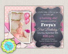 CUSTOM PERSONALIZED Birthday Invitation by InvitationsByLittleP